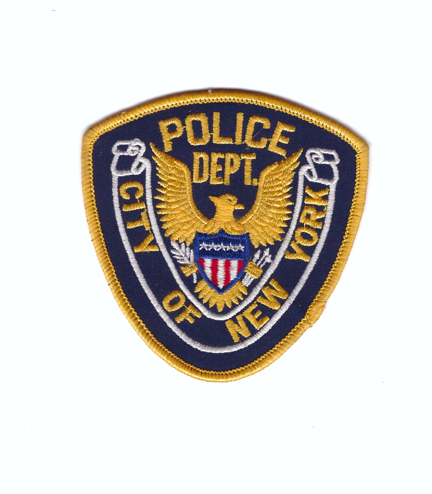 New York, Patches, Police, Historical Memorabilia