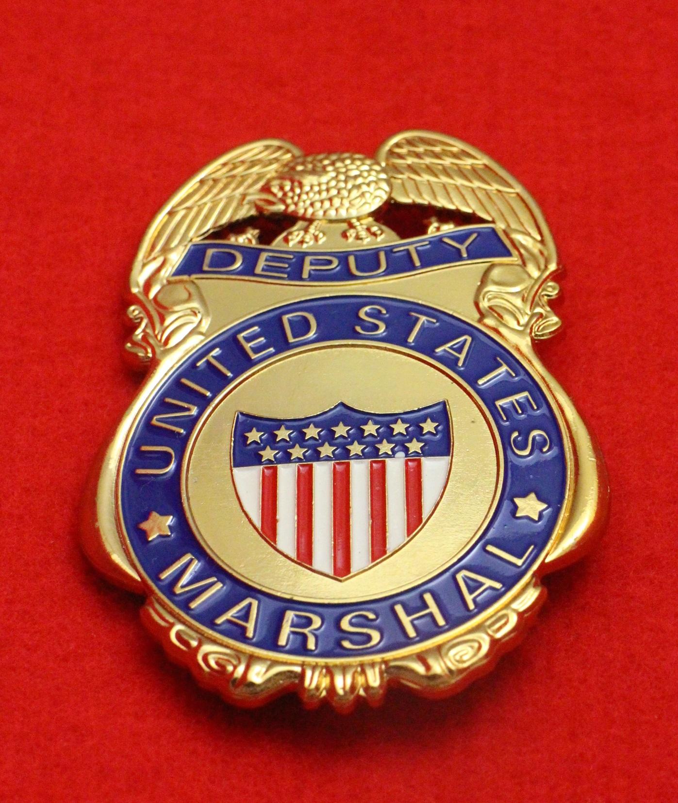 us deputy marshal badge. Black Bedroom Furniture Sets. Home Design Ideas